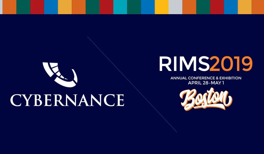 Cybernance Invited to RIMS2019: One of Twelve to Exhibit at Start-Up Stadium!